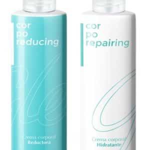 Crema hidratante corporal y Reductora corporal Gley. Pack Promocional